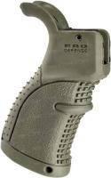 Рукоятка пистолетная FAB Defense прорезиненная для M16\M4\AR15, ц:olive drab