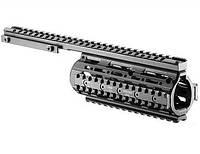 Цевье FAB Defense для вывеш. ствола М16/М4, алюминий, 4 планки. ц:black