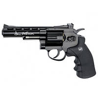 Револьвер пневм. ASG Dan Wesson 4'' Black 4,5 мм