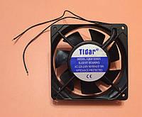 Вентилятор осьовий універсальний Tidar 120мм*120мм*25мм / 220-240V / 0,10 А / 13W (КВАДРАТНИЙ), фото 1