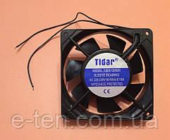 Вентилятор осьовий універсальний Tidar 120мм*120мм*25мм / 220-240V / 0,10 А / 13W (КВАДРАТНИЙ)