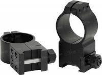 Крепление Warne Tactical Fixed Ring 30мм. Extra High стальное ц:black