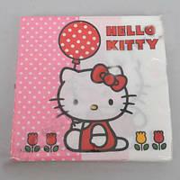 "Салфетки бумажные  ""hello kitty"" Польша"