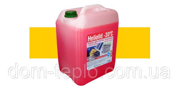 Теплоноситель(гликоль) для солнечных коллекторов(панелей) гелиосистем Heliolid 10 л