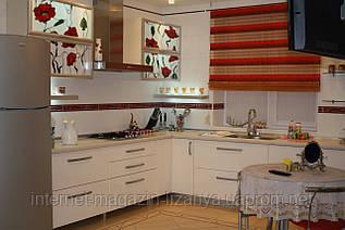 Кухня с витражами тиффани