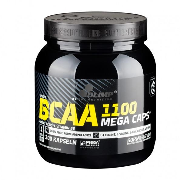 Аминокислота  BCAAв капсулах Mega Caps Olimp Labs 300 caps