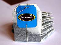 Черный пакетированый Susan-Tea 25 пакетов по 2 г