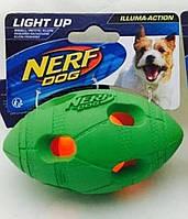 Игрушка Hagen Nerf LED Bash Football для собак с подсветкой, 10 см