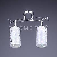 Люстра спот (направляемая) на 2 лампочки P3-016KS/2/CR+WT