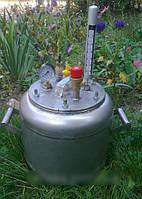 Автоклав бытовой походный на 7 (1-литровых) банок или 8 (0,5-литровых) банок NIK
