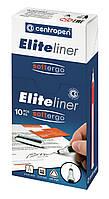 Линер Centropen Elite ширина наконечника 0,3 мм синий