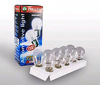 Лампа Zollex P21/5W 12V (10шт)