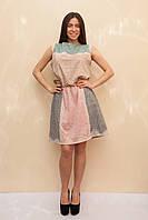 Женское платье в этническом стиле без рукавов