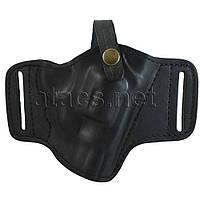 Кобура поясная Медан 1102 для револьвера, кожаная формованная