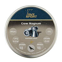 Пули пневм H&N Crow Magnum 6,35 mm , 1,7 г, 200 шт/уп