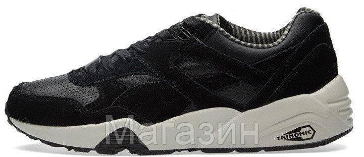 Мужские кроссовки Puma R698 CITI SERIES Black Пума черные