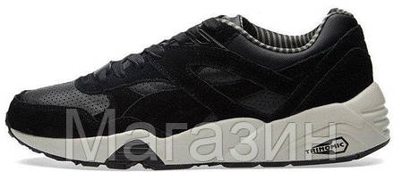 Мужские кроссовки Puma R698 CITI SERIES Black Пума черные, фото 2