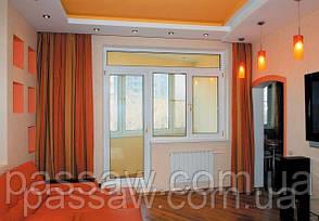 Двери металлопластиковые балконные