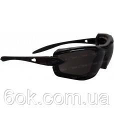 Очки Swiss Eye Detection, 2 комплекта сменных линз, съемная пылевая защита, сменное гибкое оголовье. ц:черный