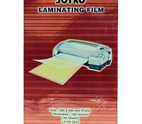 Плёнка к ламинатору LF100-2234, 100л, 100мк, 225х340мм