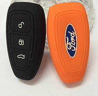 Чехол для смарт ключа Ford Focus , Mondeo,Ford Fiesta,Ecosport, Kuga c логотипом