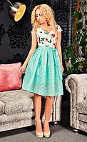 Очень нежное женское платье Арина в расцветках