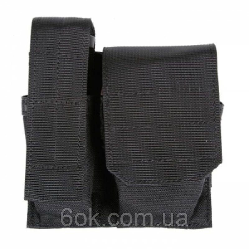 Подсумок BLACKHAWK! S.T.R.I.K.E. Cuff/Mag/light Pouch Black ц:черный