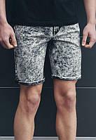 Джинсовые шорты Staff Stretch Black-White