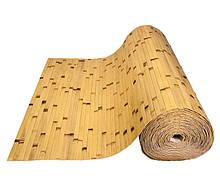 Бамбукові шпалери, світлі/обпалені