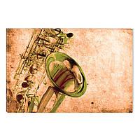 Светящиеся Картины Startonight Саксофон Абстракция Музыкальный Инструмент Печать на Холсте Декор стен Дизайн И