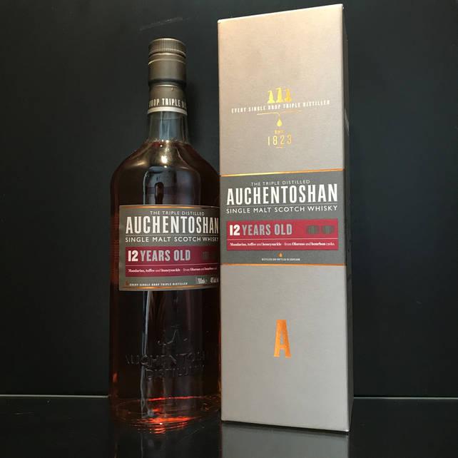 Виски односолодовый Auchentoshan 12 y.o. 0.7л