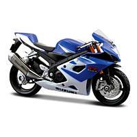 Модель мотоцикла Maisto 1:12 Suzuki GSX-R1000 2006 г (31101-1 Suzuki GSX-R1000 blue/white)