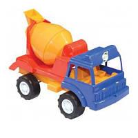 Камаз бетономешалка пластмассовый игрушечный Орион 044