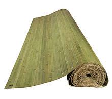 Бамбукові шпалери темно-зелені