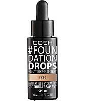 GOSH Тональная основа Foundation Drops 004 natural 30 мл