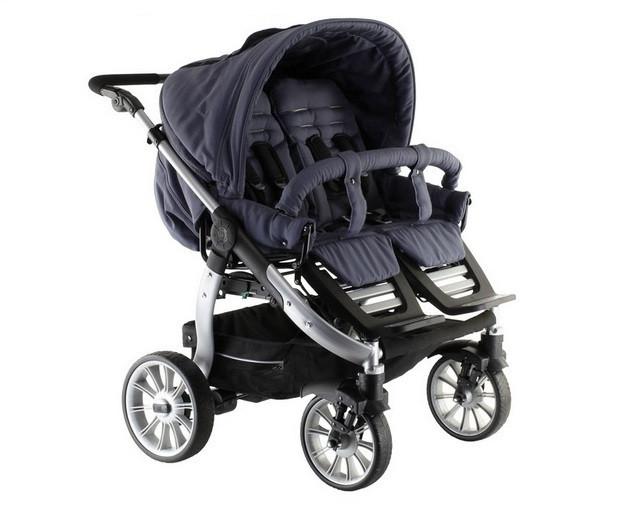 Детская коляска для двойни Teutonia Team Cosmo V3