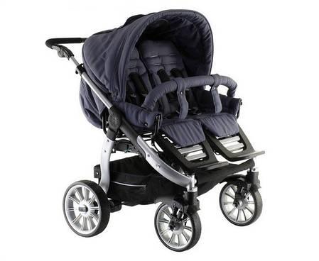 Детская коляска для двойни Teutonia Team Cosmo V3, фото 2