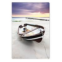 Светящиеся Картины Startonight Лодка у Берега Природа Пейзаж Печать на Холсте Декор стен Дизайн Интерьер