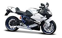 Модель мотоцикла Maisto 1:12 BMW HP2 Sport (31101-4 BMW HP2 Sport white/black)