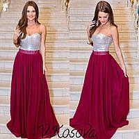 Шикарное платье с корсетом по суперцене