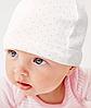 Шапочки для новорожденных без завязок (объём головы с 36 см по 44 см)
