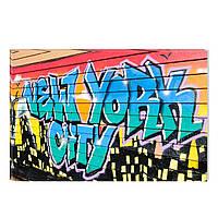 Светящиеся Картины Startonight Граффити Нью Йорк Городской Пейзаж Печать на Холсте Декор стен Дизайн Интерьер