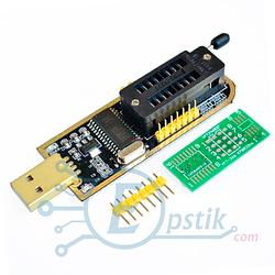 CH341A PRO, USB программатор 24-25 FLASH 24 EEPROM