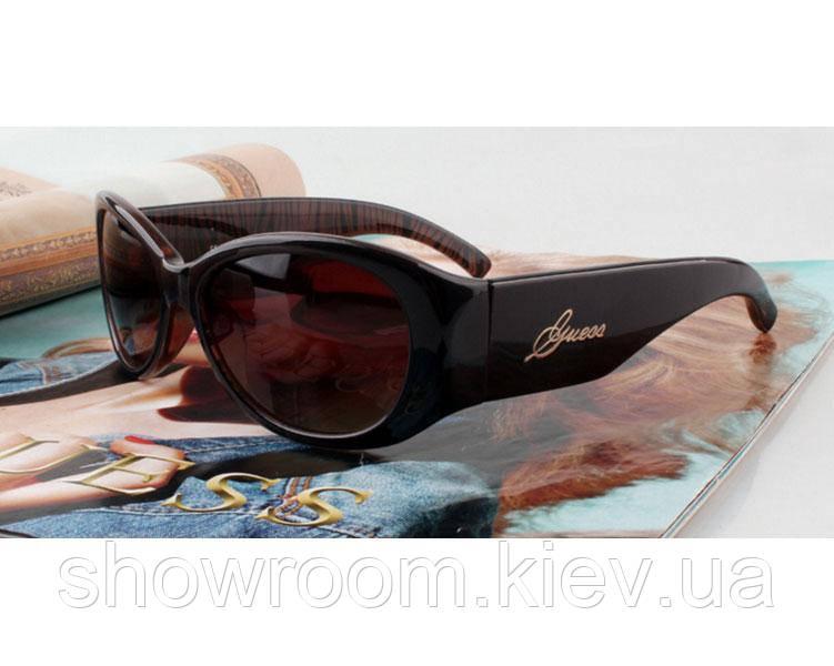 Солнцезащитные очки в стиле Guess (GUF 208 brown) Lux