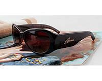 Солнцезащитные очки в стиле Guess (GUF 208 brown) Lux, фото 1