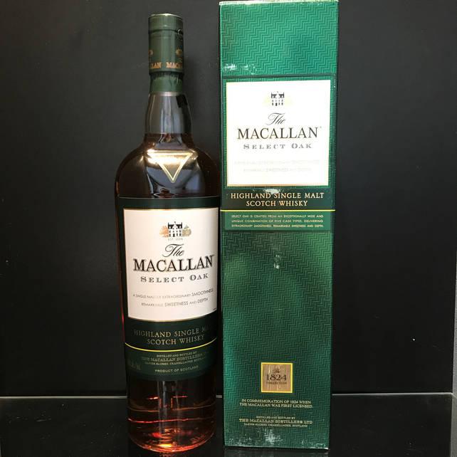 Односолодовый Шотландский виски Macallan Select Oak 1л