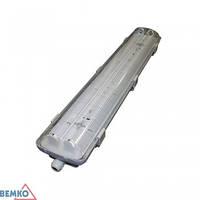 C06-OHL218PC Светильник люминесцентный пылевлагозащищённый 2х18 Вт, IP 65 /6