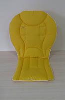 Вкладыш однотонный желтый