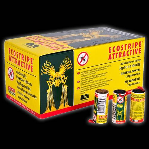 Экострайп Ecostripe липкая лента, мухолов, средство от мух