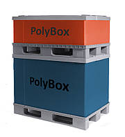 Полимерный разборной контейнер PolyBox Н1000 (1200х800х1000 мм)